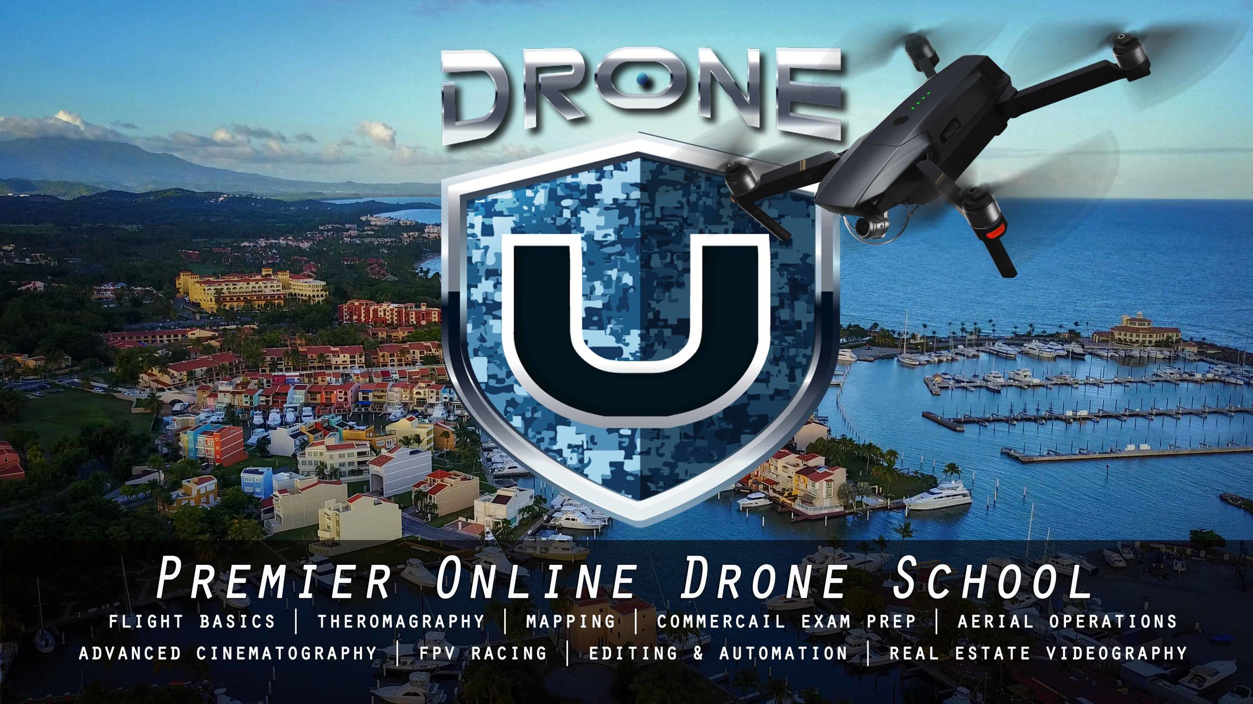 Drone U Annual Subscription.