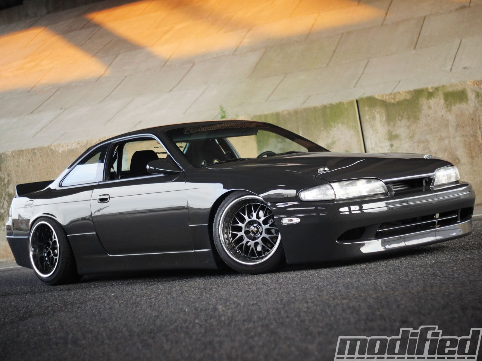 Tim Florio's 240sx image from Modified Magazine feature