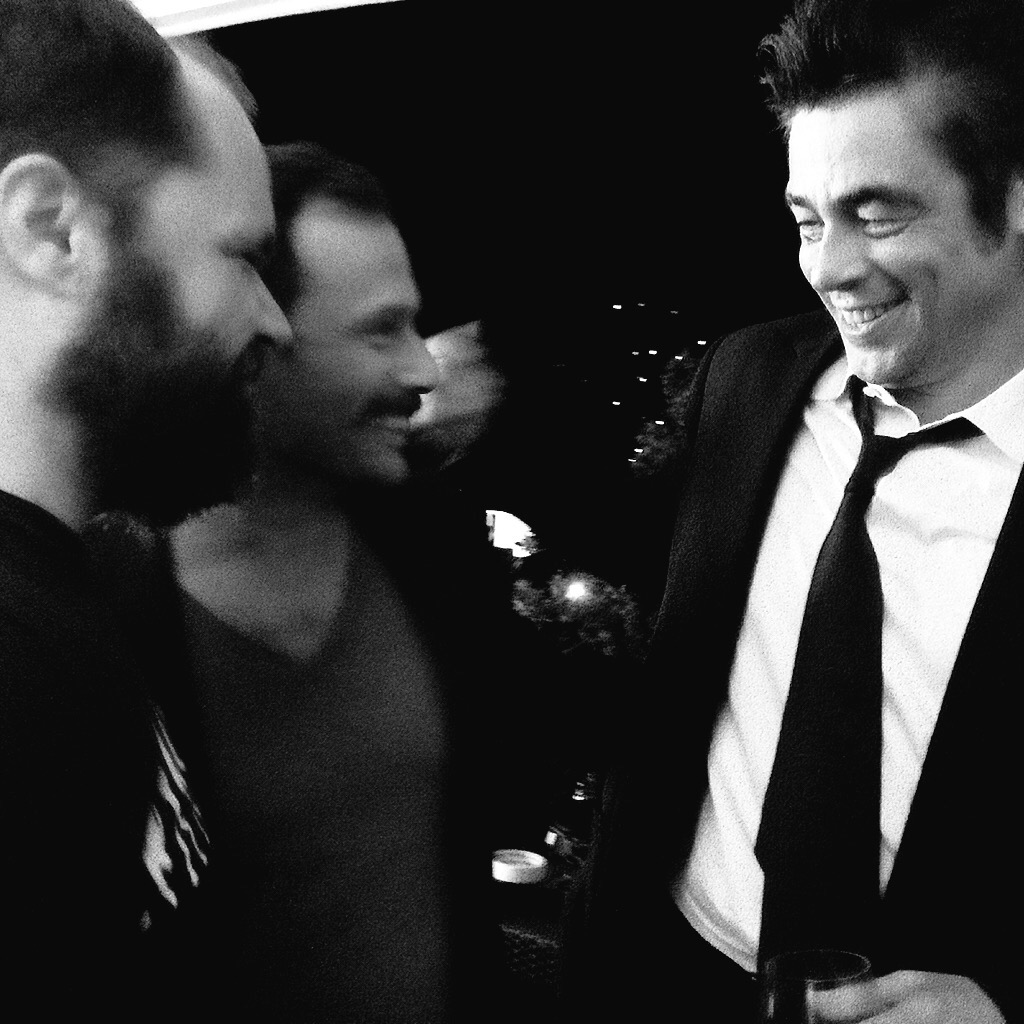 Makis Papadimitriou,                      Yorgos Pirpassopoulos                                Benicio Del Toro