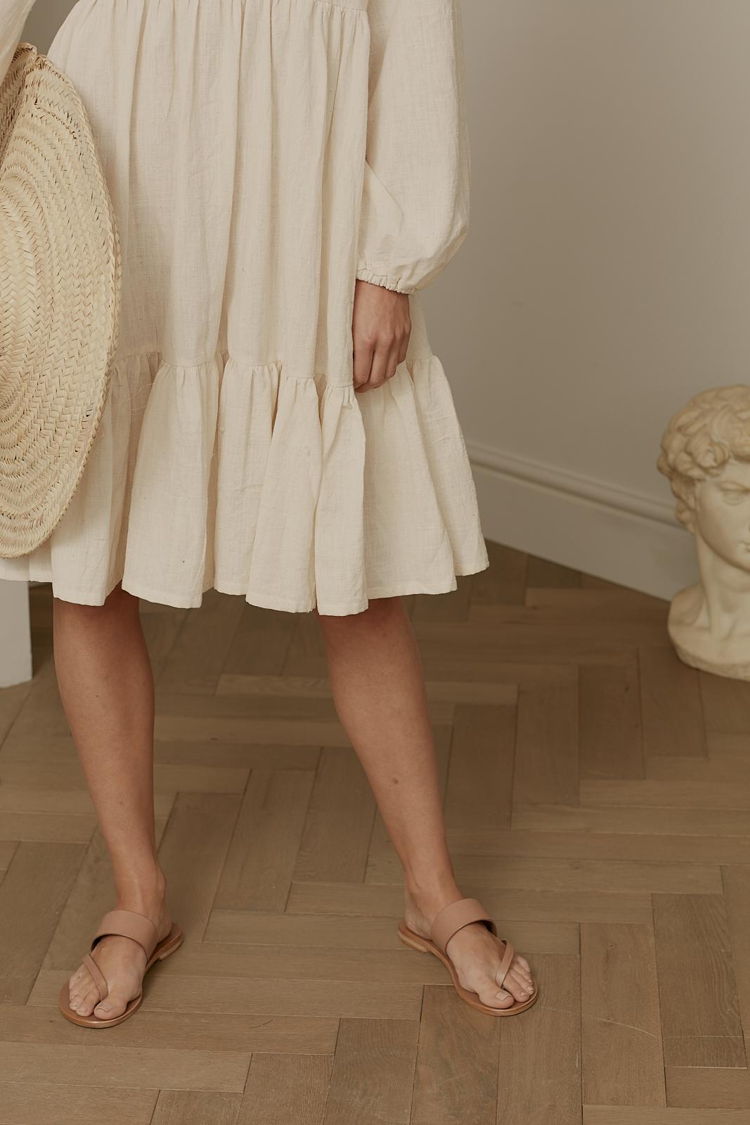 Ren London Marni dress in organic cotton gauze