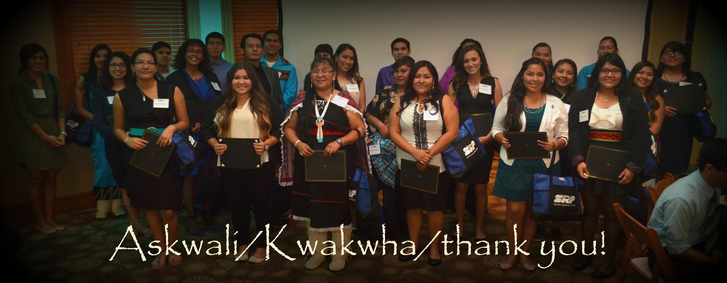 Hopi Students Donation HEEF