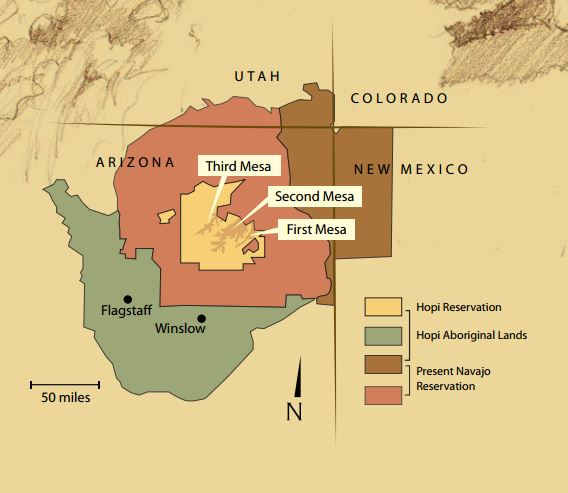 Four-Corners Map Hopi Arizona.JPG