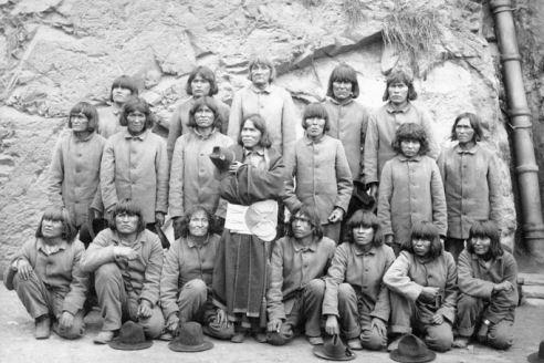 Hopi Indians at Alcatraz