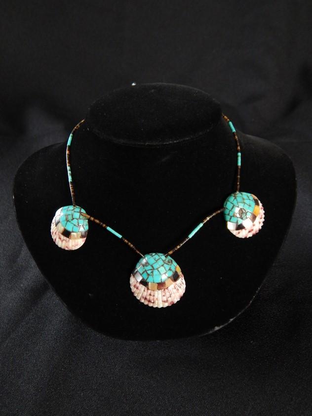 3 Shell Santa Domingo Necklace