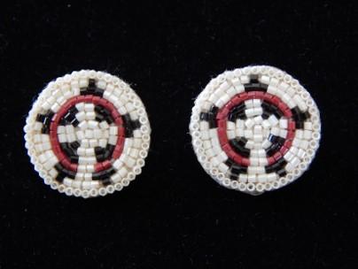Beaded Basket Earrings