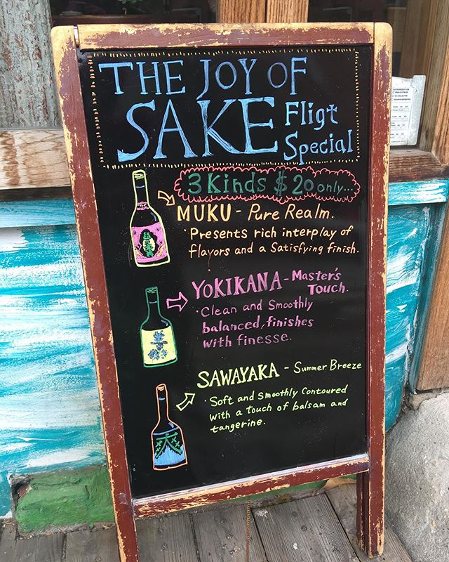 雨ニモマケズ ノミマショウ。 #joyofsake flight special... from today! @gen.brooklyn . . . . #happyhour #japan #sake #JapaneseRestaurant #Japanese #izakaya #omakase #onenightonly #event #tonight #brooklyn #ProspectHeights #CrownHeights #ProCro #bestfood #japanesefood #event #special #sakeflight #NewYork #Kanpai #ForSakeLovers #日本酒 #japanesecraftbeer #craftbeer