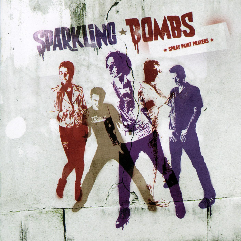 Sparkling Bombs, Spray Paint Prayers, 2009Design by Stephane Pe