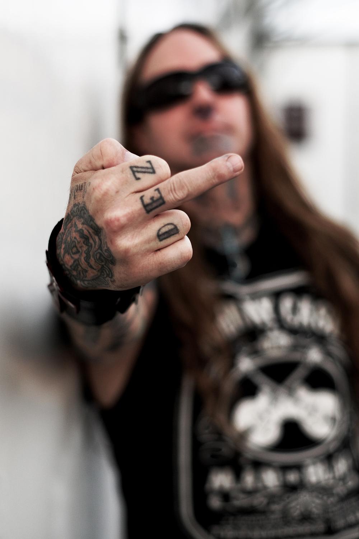 Def Fafara (Devildriver) - Hellfest 2008