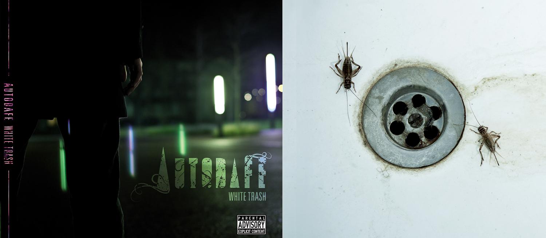 Autodafe, White Trash - CD Artwork 2010