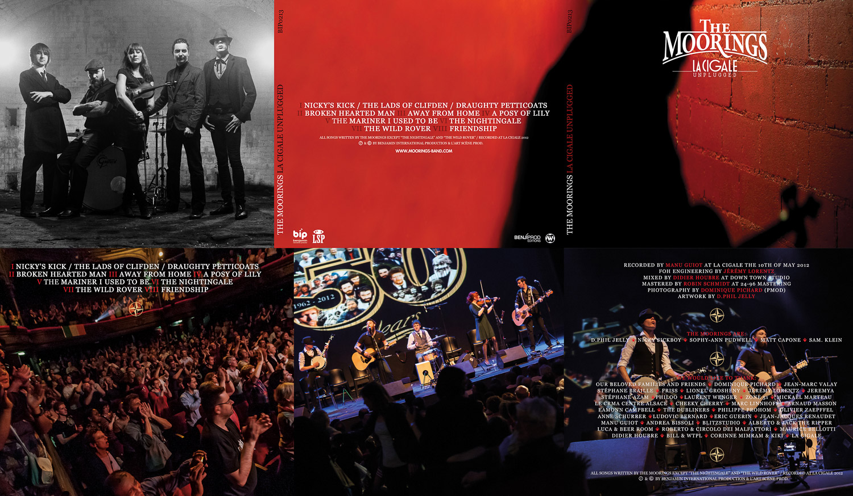 The Moorings - Live @ La Cigale - Vinyle Artwork 2013
