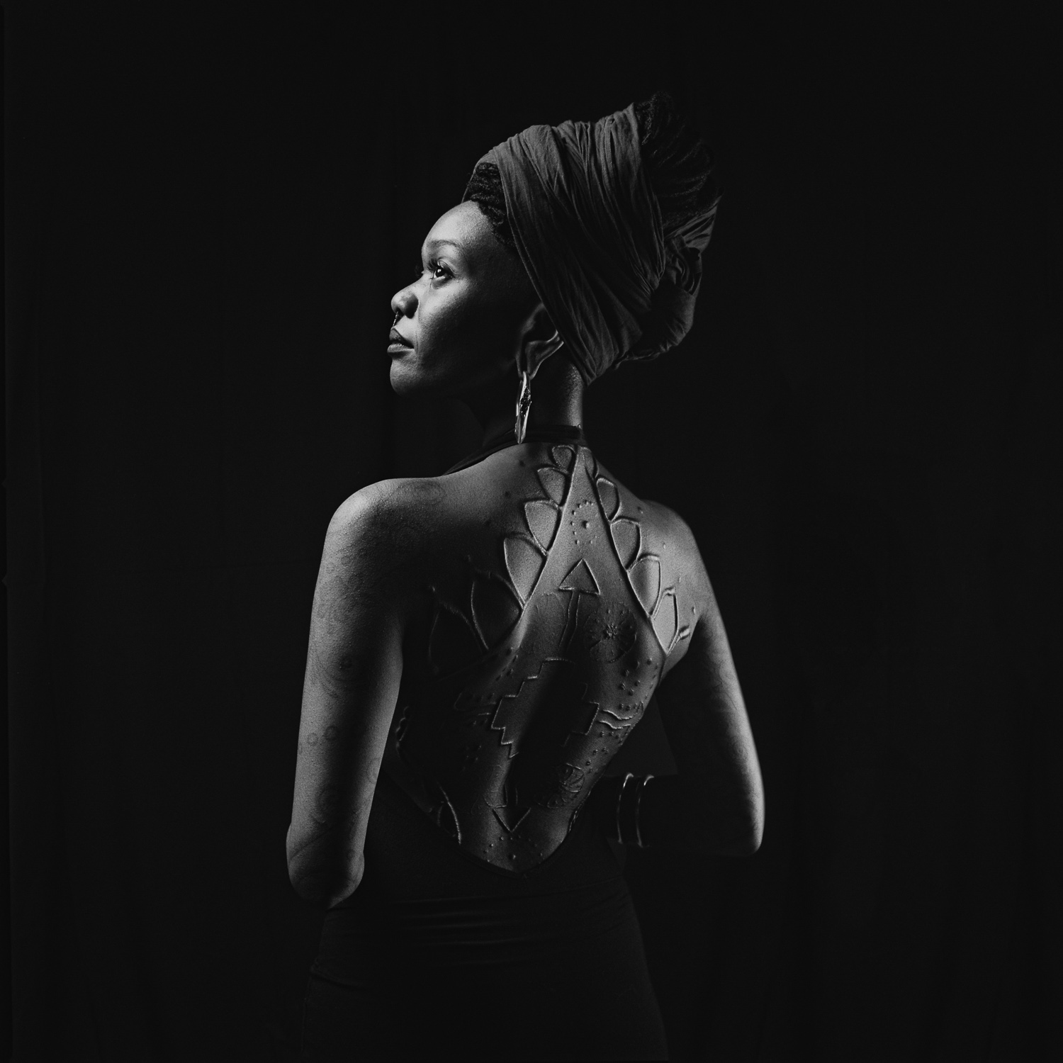 Moniasse Sessou - Mondial du Tatouage Paris, 2015