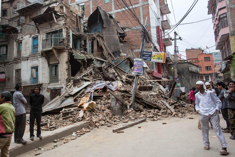 Kathmandu -Apr, 27th 2015
