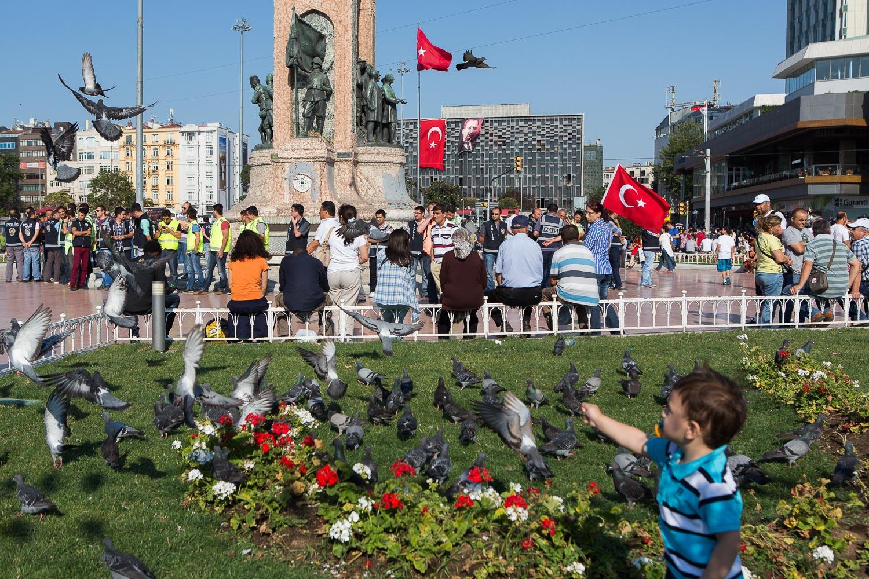 Violent demonstration @ Taksim, Istanbul - July 6th 2013