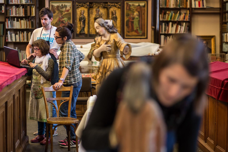 Bibliothèque Humaniste de Sélestat - Ecole de restauration - T