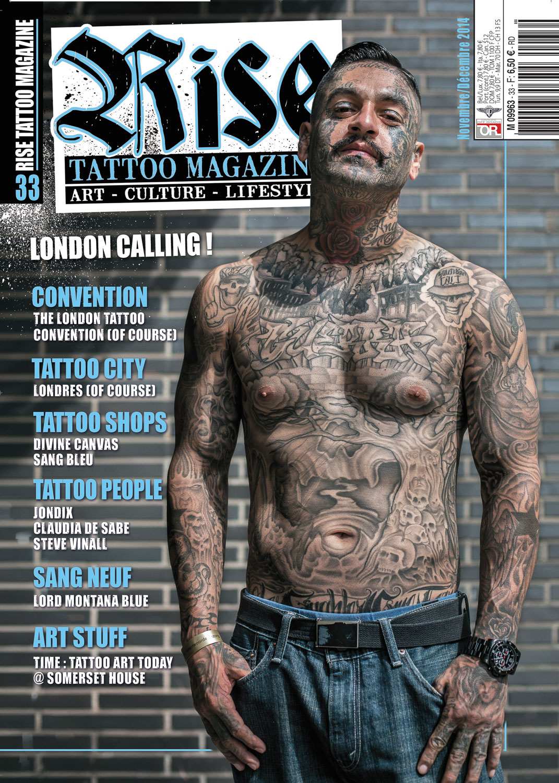 Rise Tattoo Magazine #33 - sample