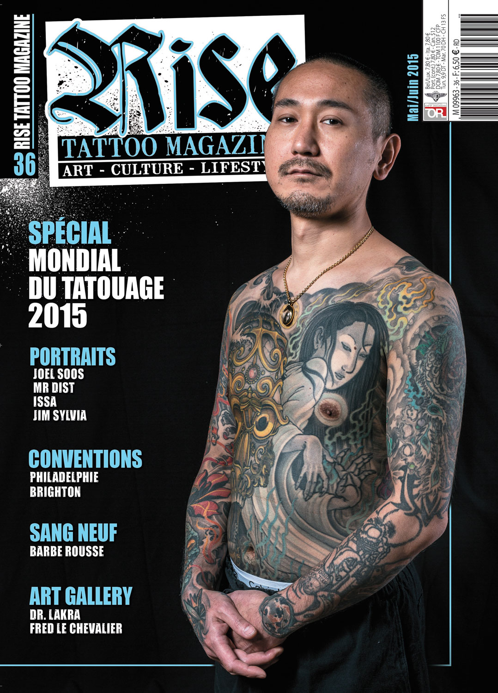 Rise tattoo Magazine #36