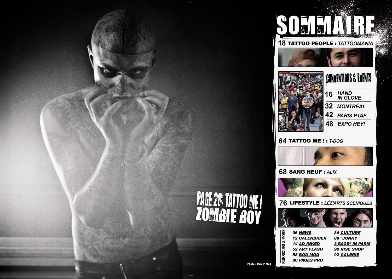 Rise Tattoo Magazine #
