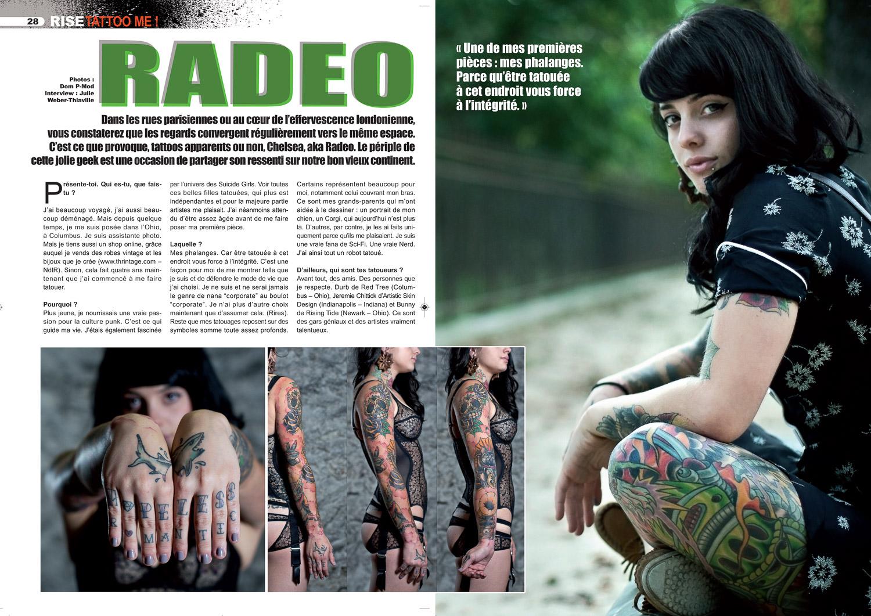 Rise tattoo magazine#17