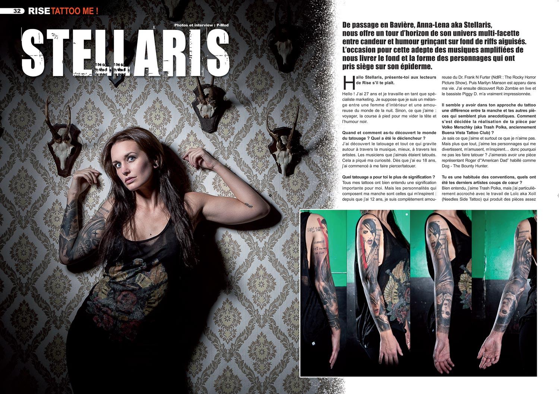 Rise Tattoo magazine #20