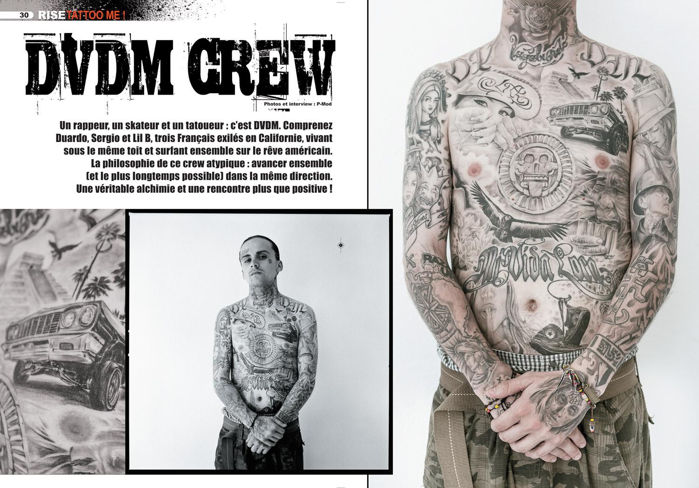 Rise tattoo magazine #22 / SAMPLE