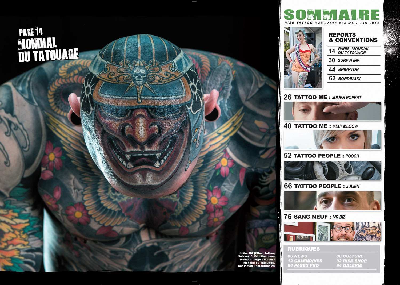 Rise Tattoo Magazine #24