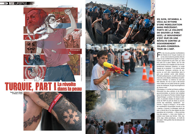 Rise#26 - Turquie : La révolte dans la peau sample