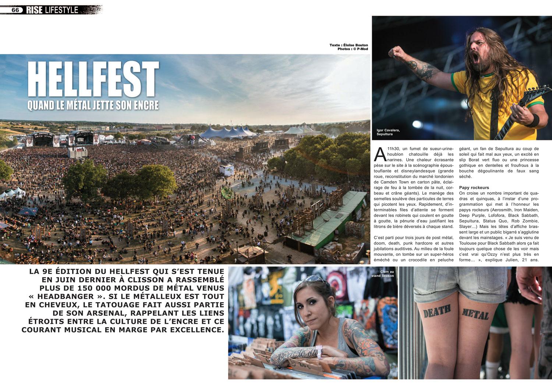 Rise tattoo Magazine #32 / Sample