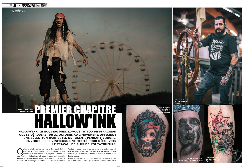 Rise Tattoo Magazine #34 - Hallow'Ink