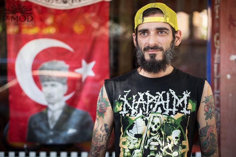 Danny Garcia - Tatoueur à Inkstanbul Artcore, Istanbul