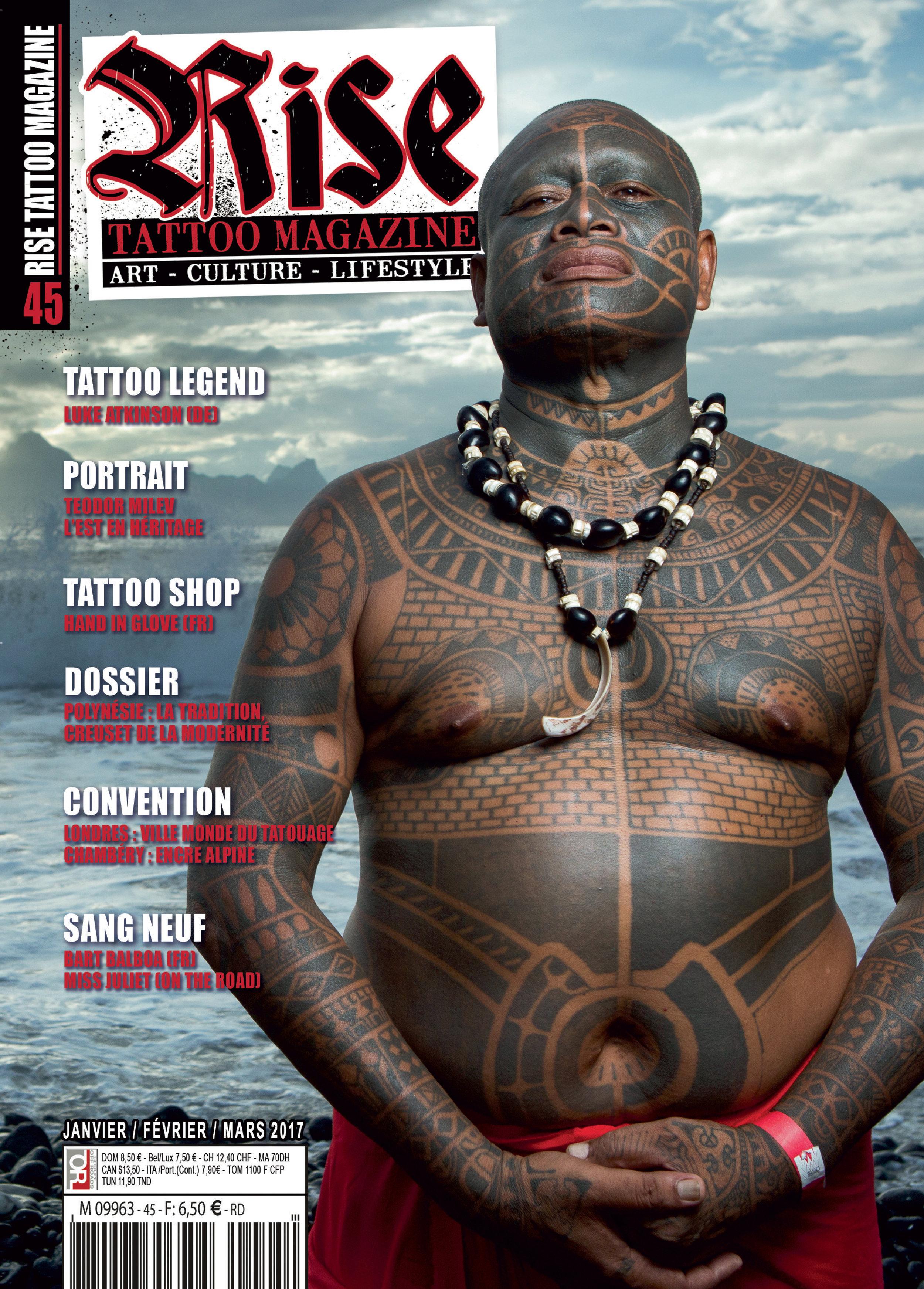 Rise Tattoo Magazine #45