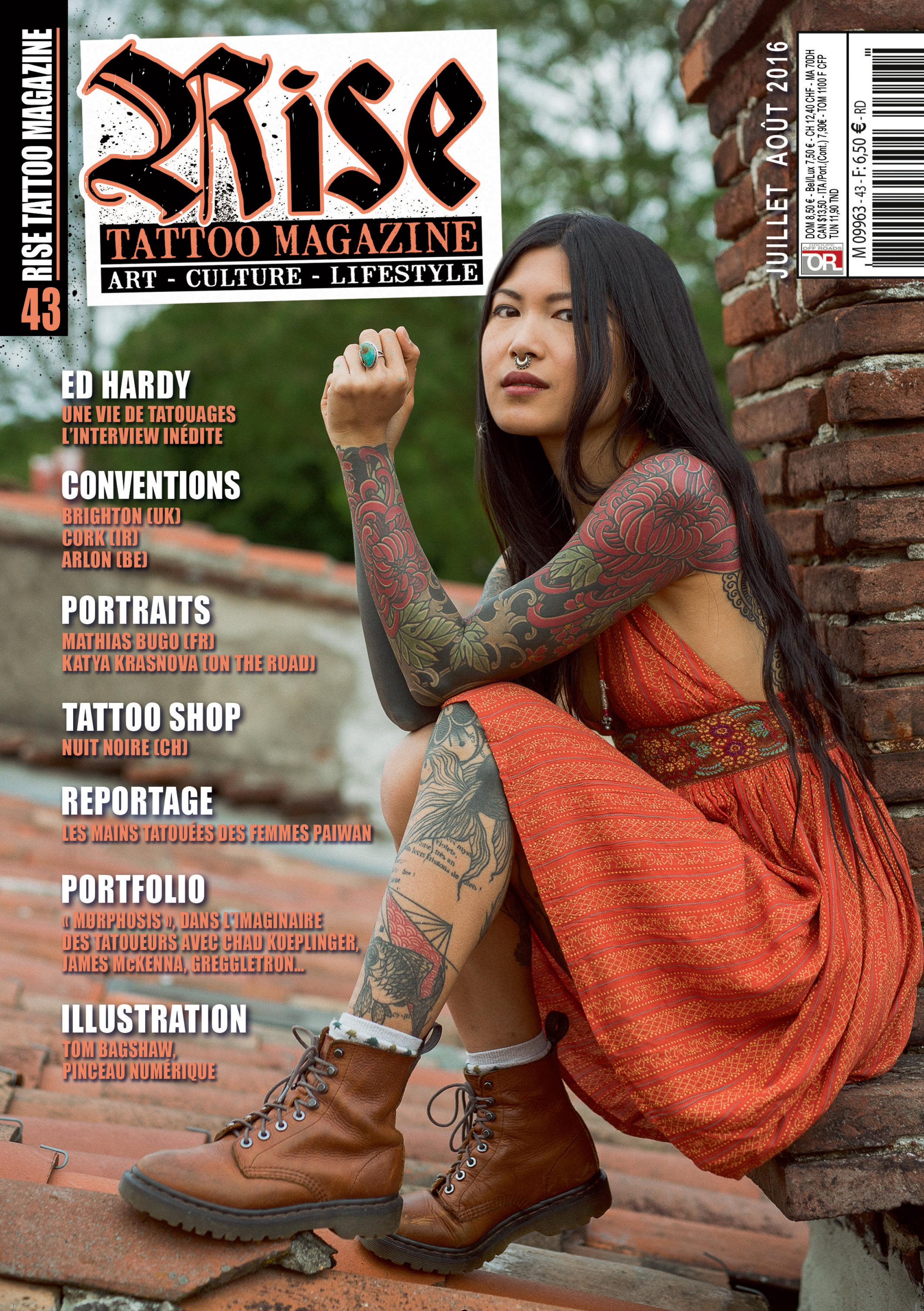 Rise Tattoo Magazine #43