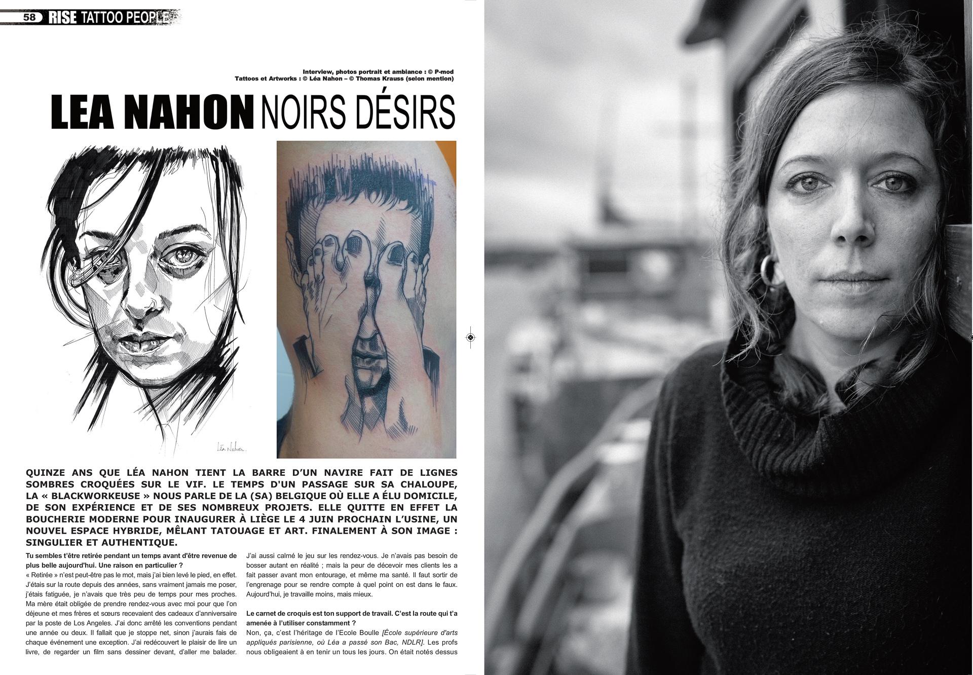 Rise Tattoo Magazine #42 - Léa Nahon
