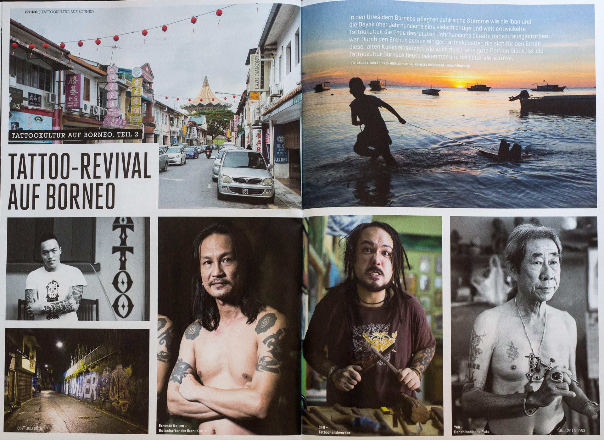 Tätowier 2016 - Tattoo revival of Borneo