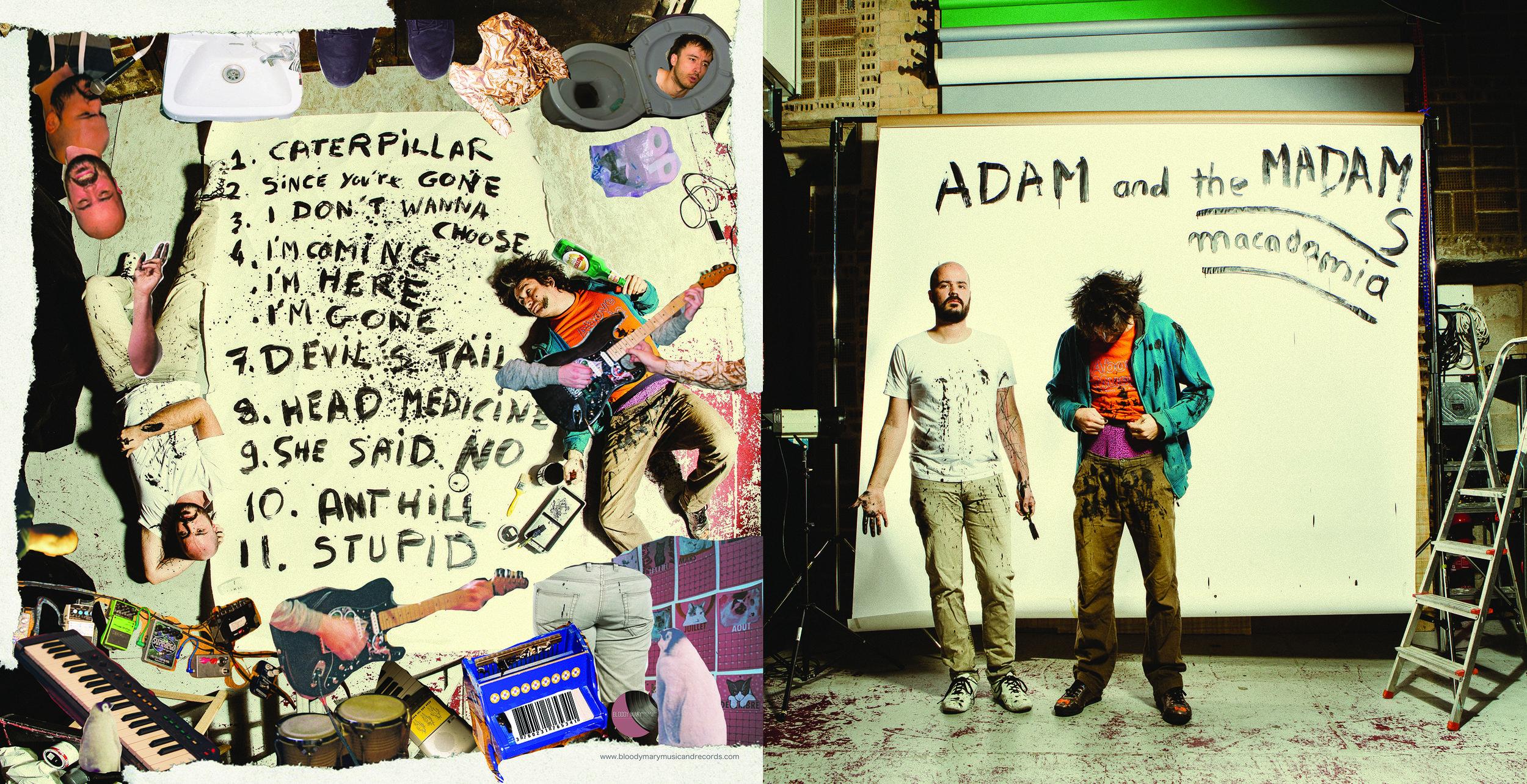Adam & the Madams - Macadamia Vinyl 2018