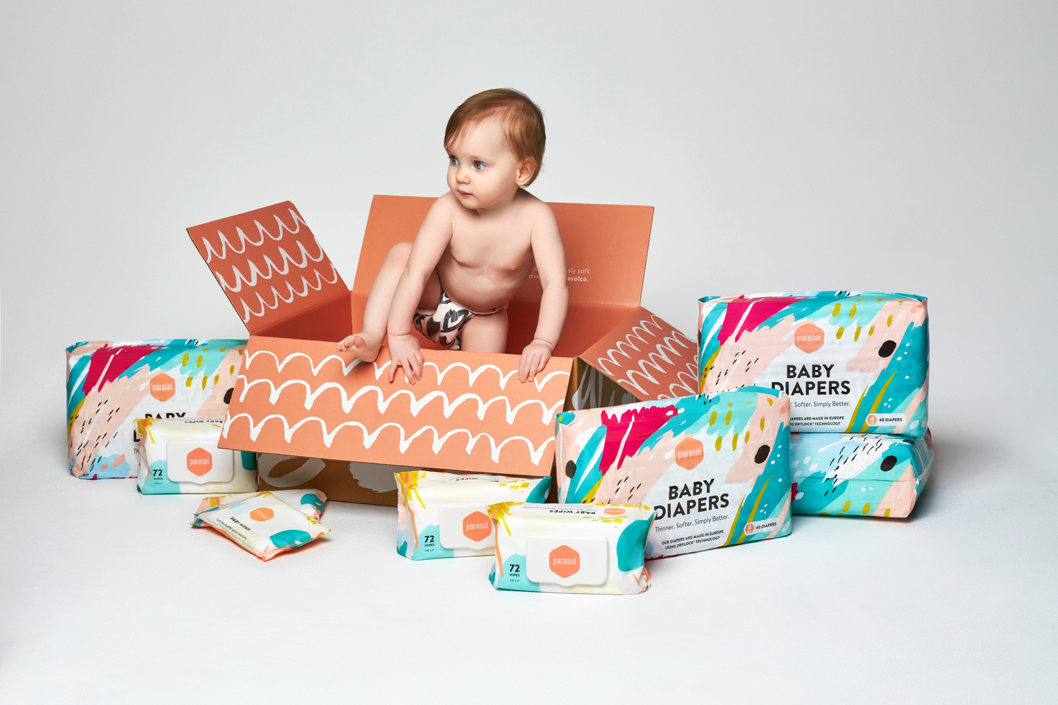 Parasol Co. Non-Toxic Diaper Subscription! 20% Off with Code ARISTA16