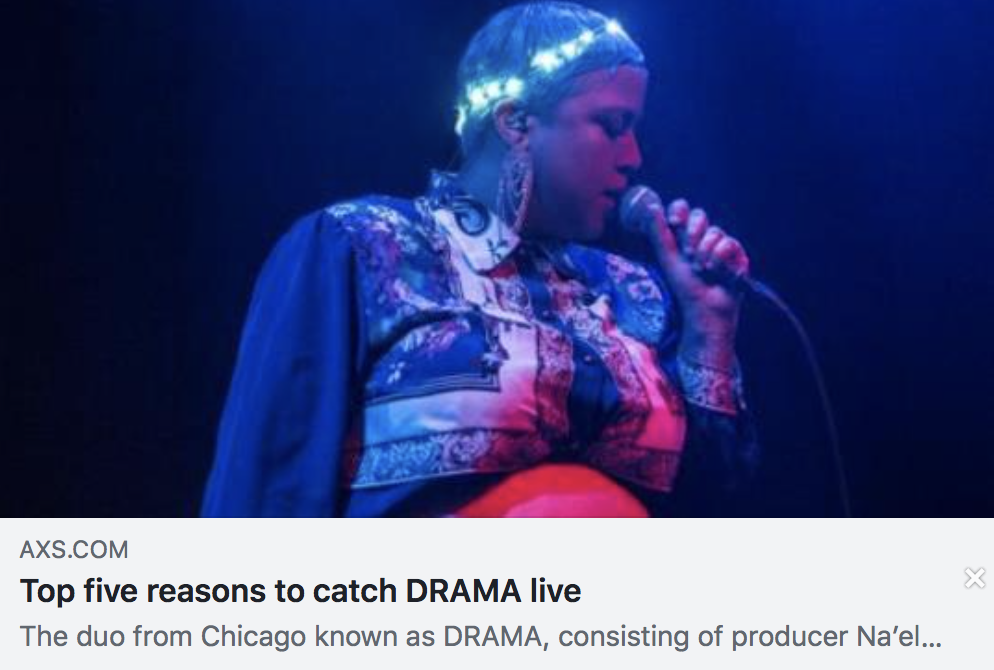Top five reasons to catch DRAMA live - AXS