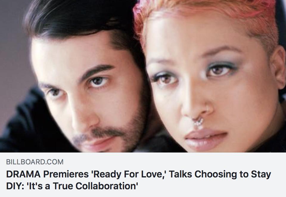 DRAMA Premieres 'Ready For Love,' talks choosing to stay DIY: 'It's a true collaboration' - BILLBOARD