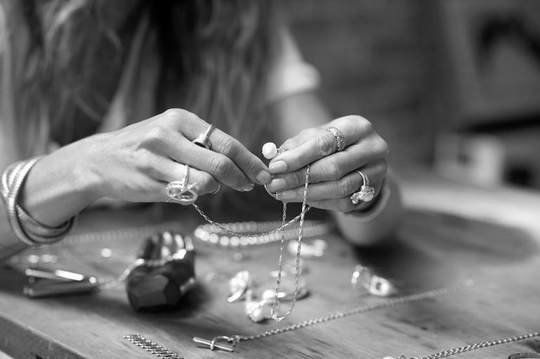 MADE IN LA - Our jewelry is proudly designed and responsibly crafted in downtown Los Angeles, CA.