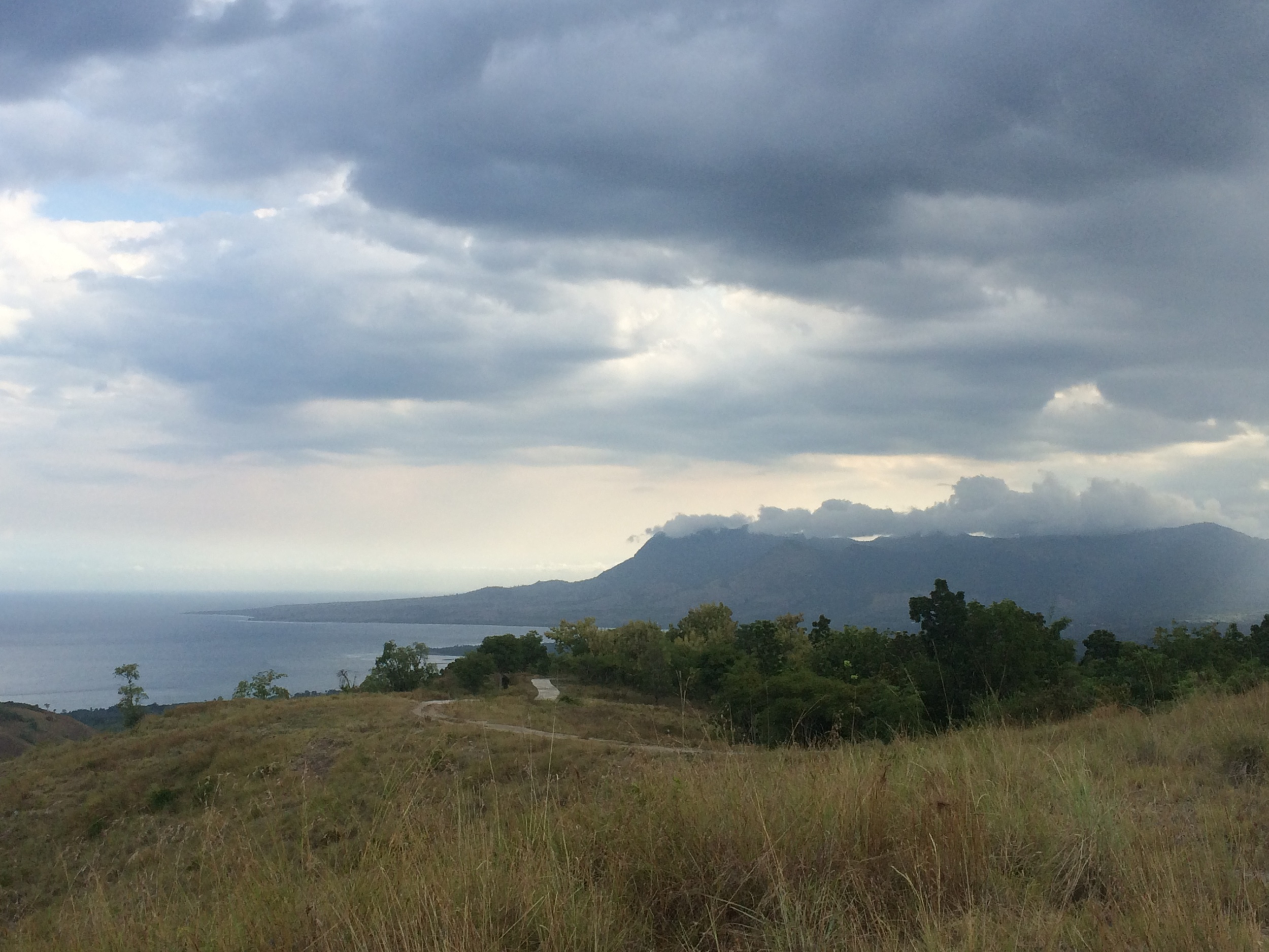 Hike up to Belaraghi Village. South west coast of Flores, Indonesia.