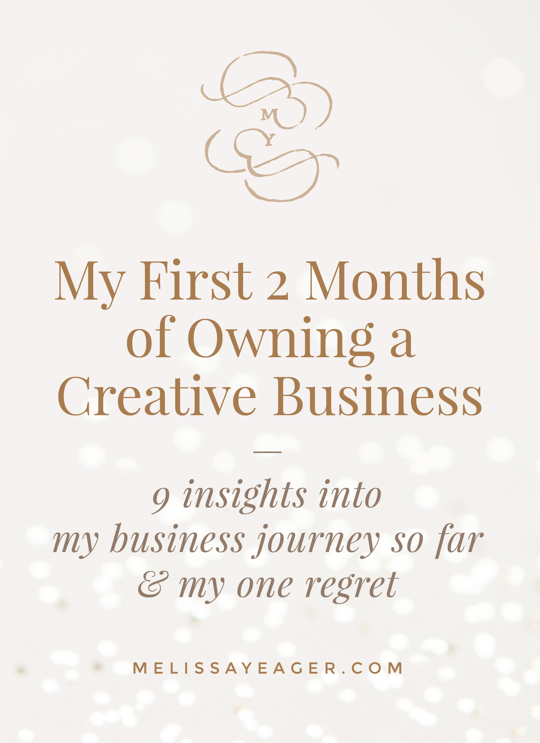 My First 2 Months of Owning a Creative Business - 9 insights into my business journey so far & my one regret