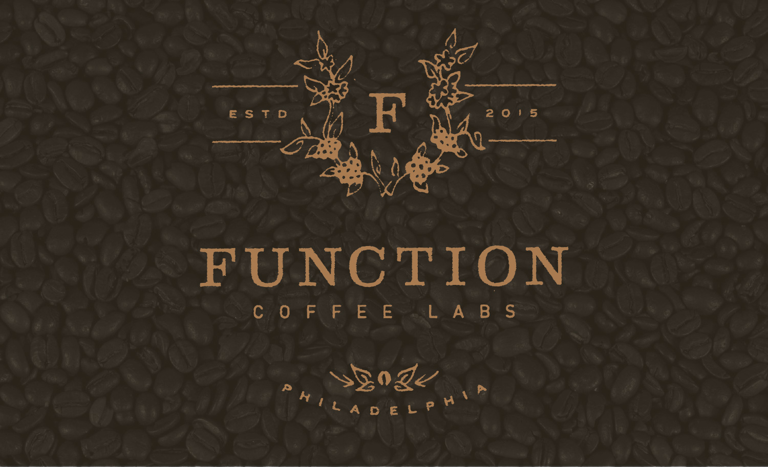 Function Coffee Labs - Logo & brand design by Melissa Yeager