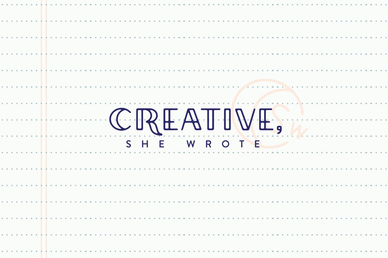 Creative, She Wrote - Final Logo