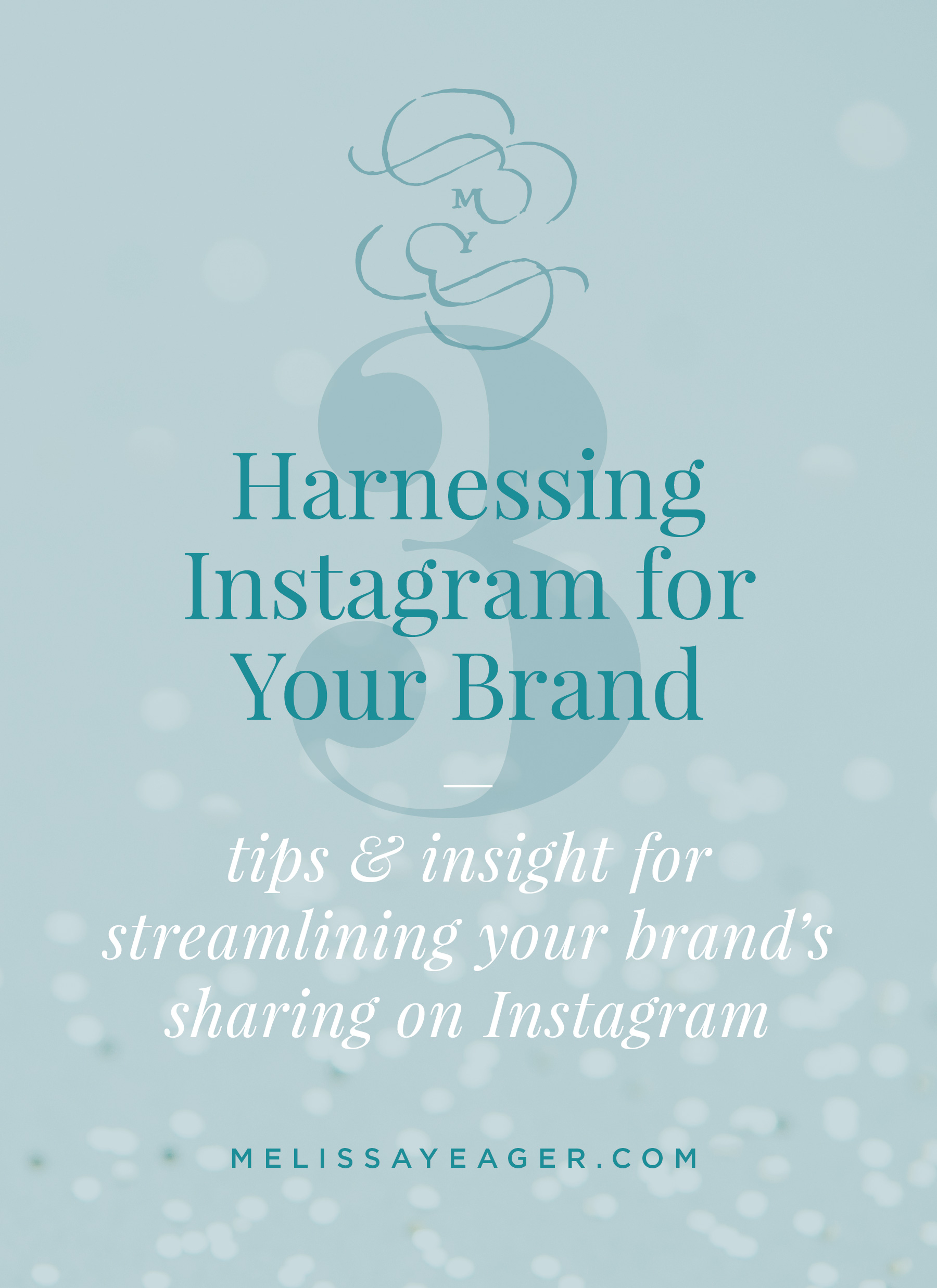 Harnessing Instagram for Your Brand - tips & insight for streamlining your brand's sharing on Instagram