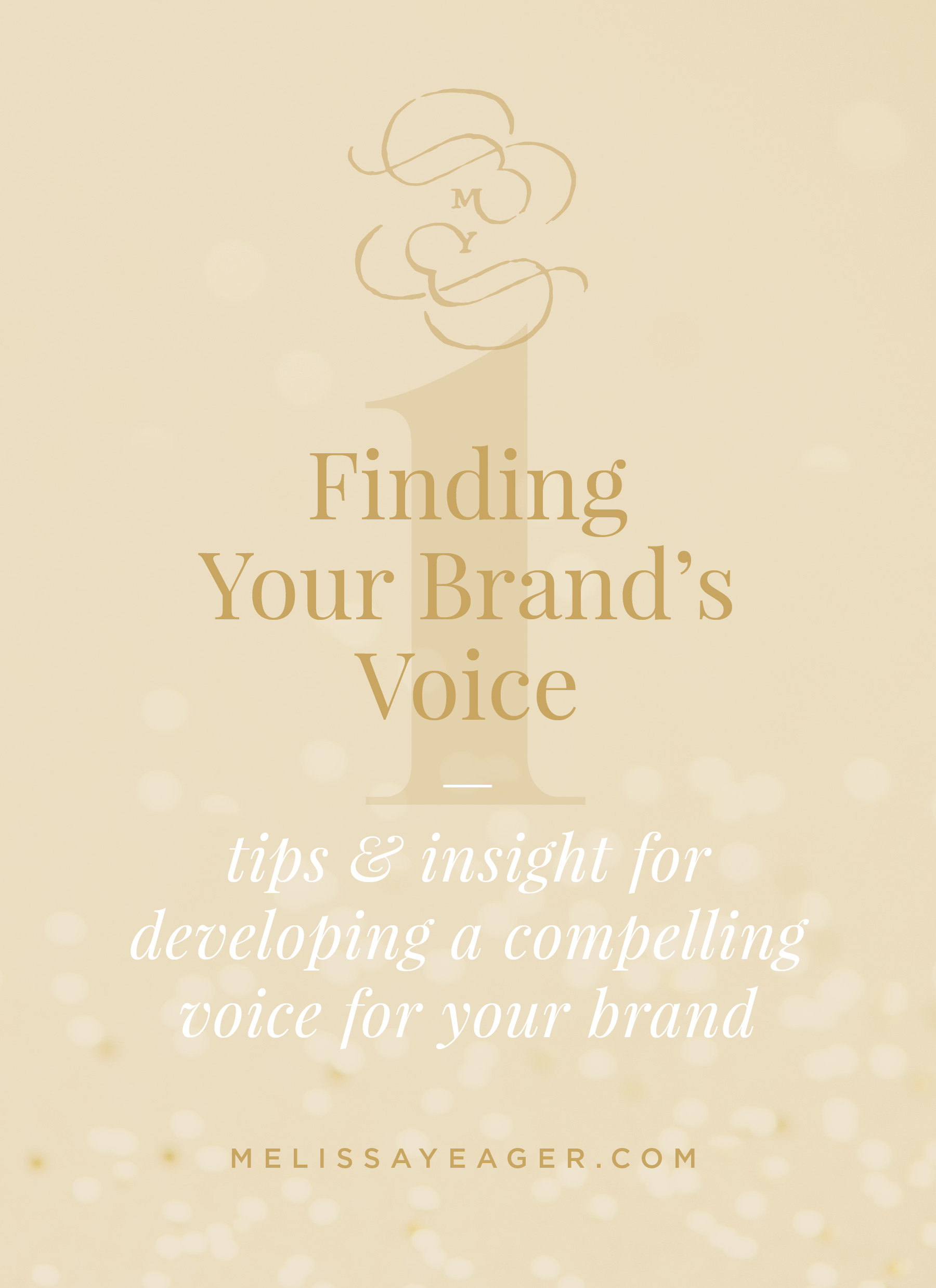 Finding Your Brand's Voice - tips & insight for developing a compelling voice for your brand