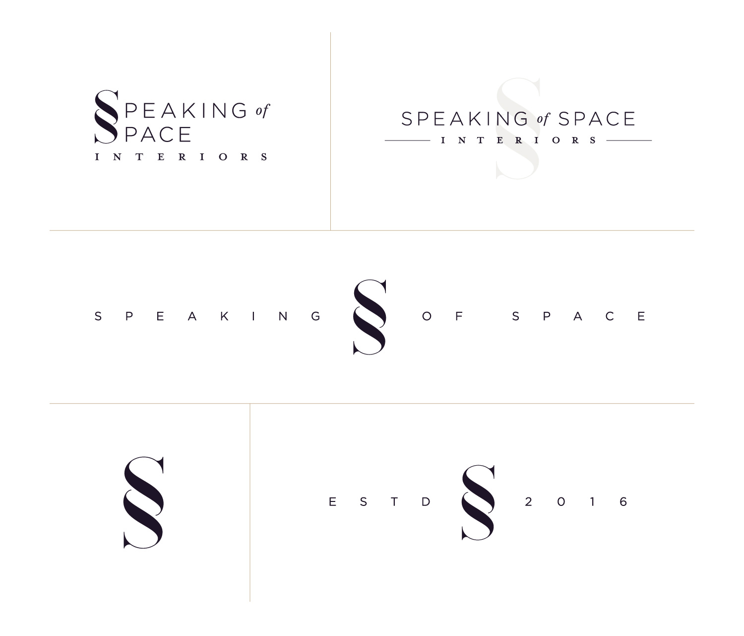 Speaking of Space - Logos & Marks