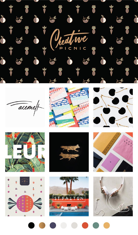 Creative Picnic - Brand Style & Color Palette