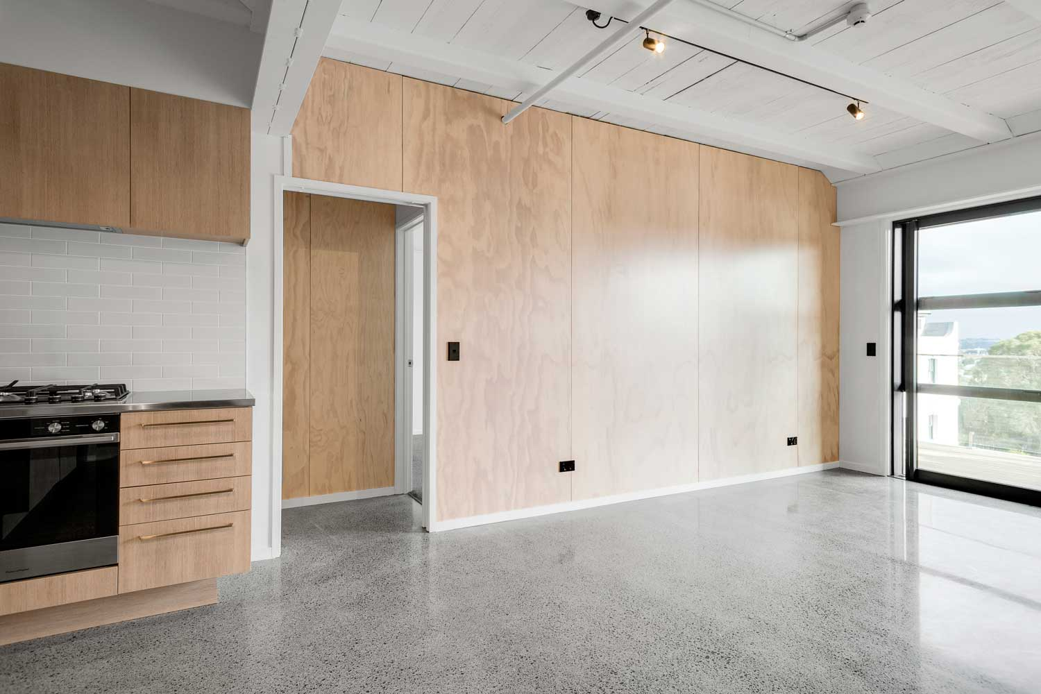 plywood-feature-wall-living-dining