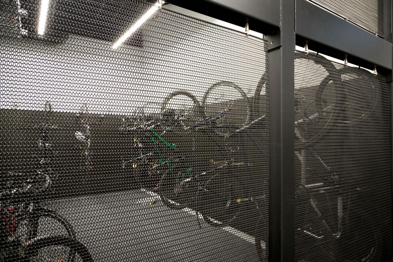 bike storage lockup