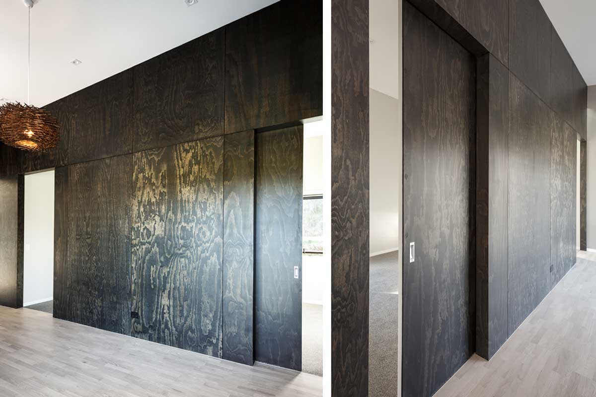 black-stained-plywood-sliding-doors