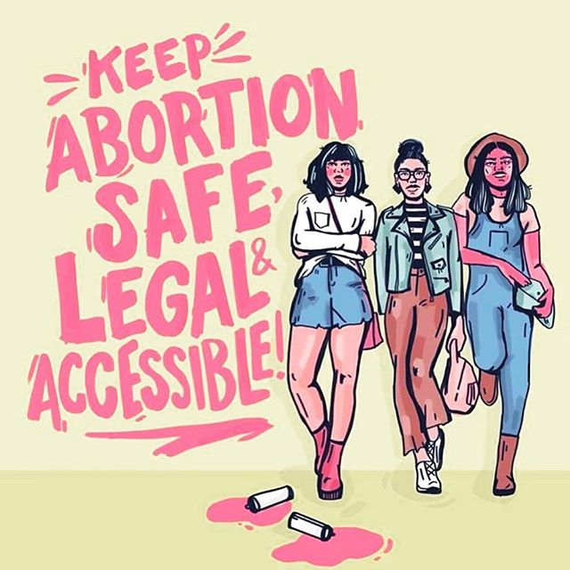 Illustration @bykellymalka ✨ I cannot fathom the amount of privilege, entitlement, lack of empathy and humanity, it would take to ever think you could control what another person does with their body. Abortions are necessary medical procedures that ensure the health, safety, and overall well-being of those who access them, their families, and communities. No one has the right to dictate the reason, instances or situations in which another person should access a safe abortion. I urge you to consider donating/supporting if you are able to do so, to these organizations. Please also contact your representatives and VOTE✊🏿✊🏾✊🏽✊🏼✊🏻 • Organizations via and article from @thecut (swipe) • @arc_southeast  @yellowfund  @whoohio  @mrff_funds_abortions  @abortionfunds  @napawf • #abortionrights #wontgoback #wontbebanned #alpolitics #noban4alabama #abortion #nohb314 #shoutyourabortion #proabortion #prochoice #prochoiceisprolife #healthcare #humanrights #womensrightsarehumanrights #keepabortionlegal #keepabortionsafeandlegal